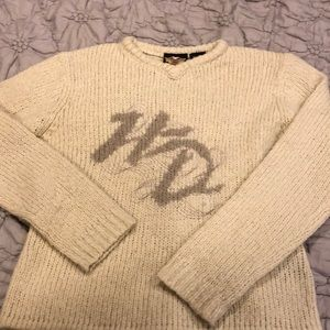 Harley Davidson V neck sweater